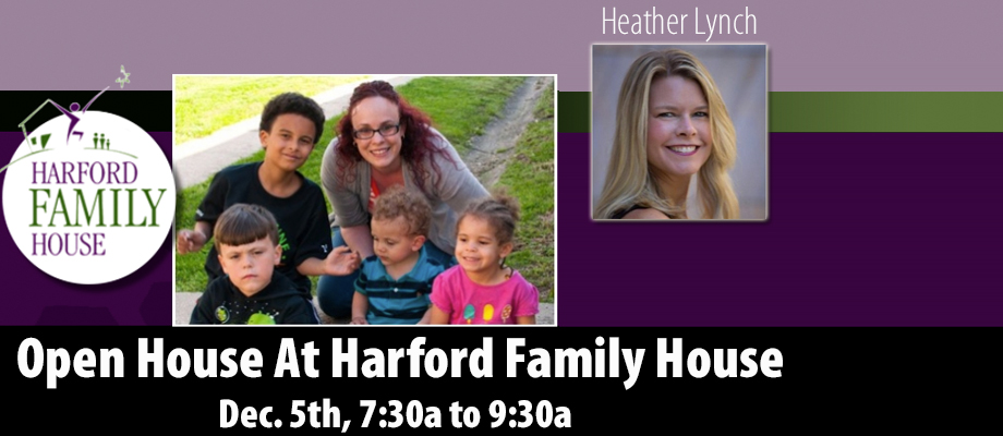 Dec. 5th Open House At Harford Family House